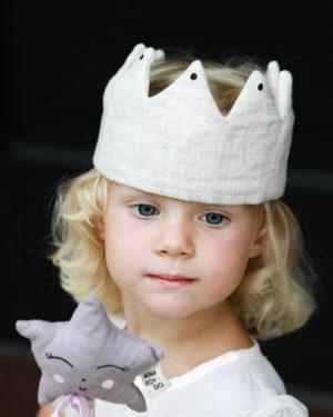 lanena_krona_deklica_zvezdica